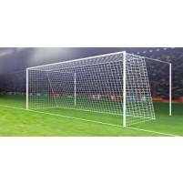 Jalgpallivärava võrk 5x2x1x1,5m (paar) 4 mm